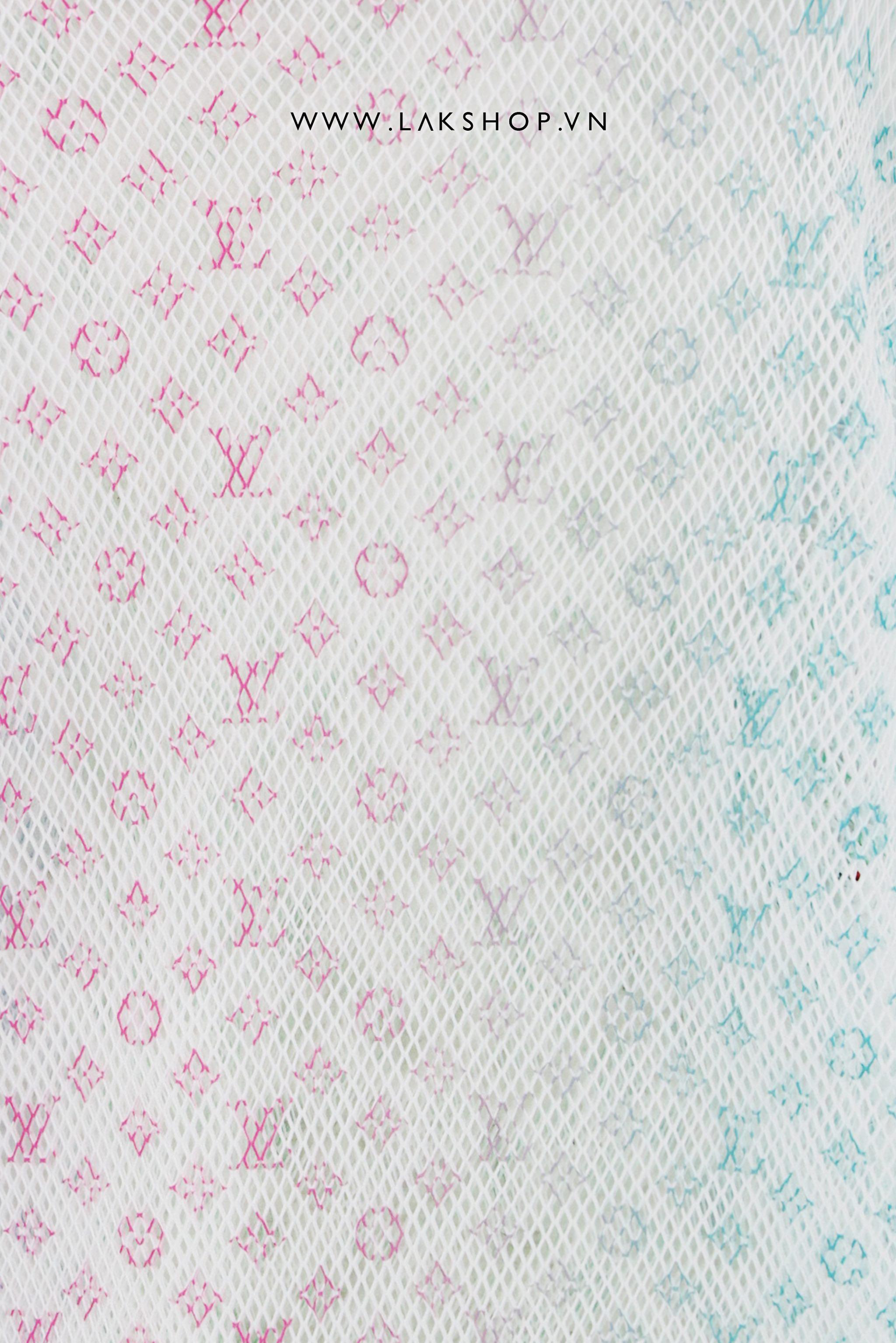 Thom Browne Black Pique Diagonal Stripe Polo Shirt