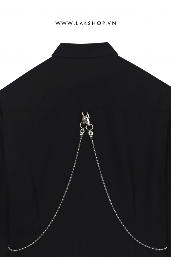 DSquared² Black Shirt with Chain