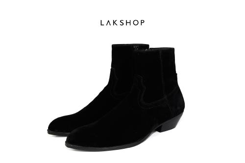 Giày SLP suede black