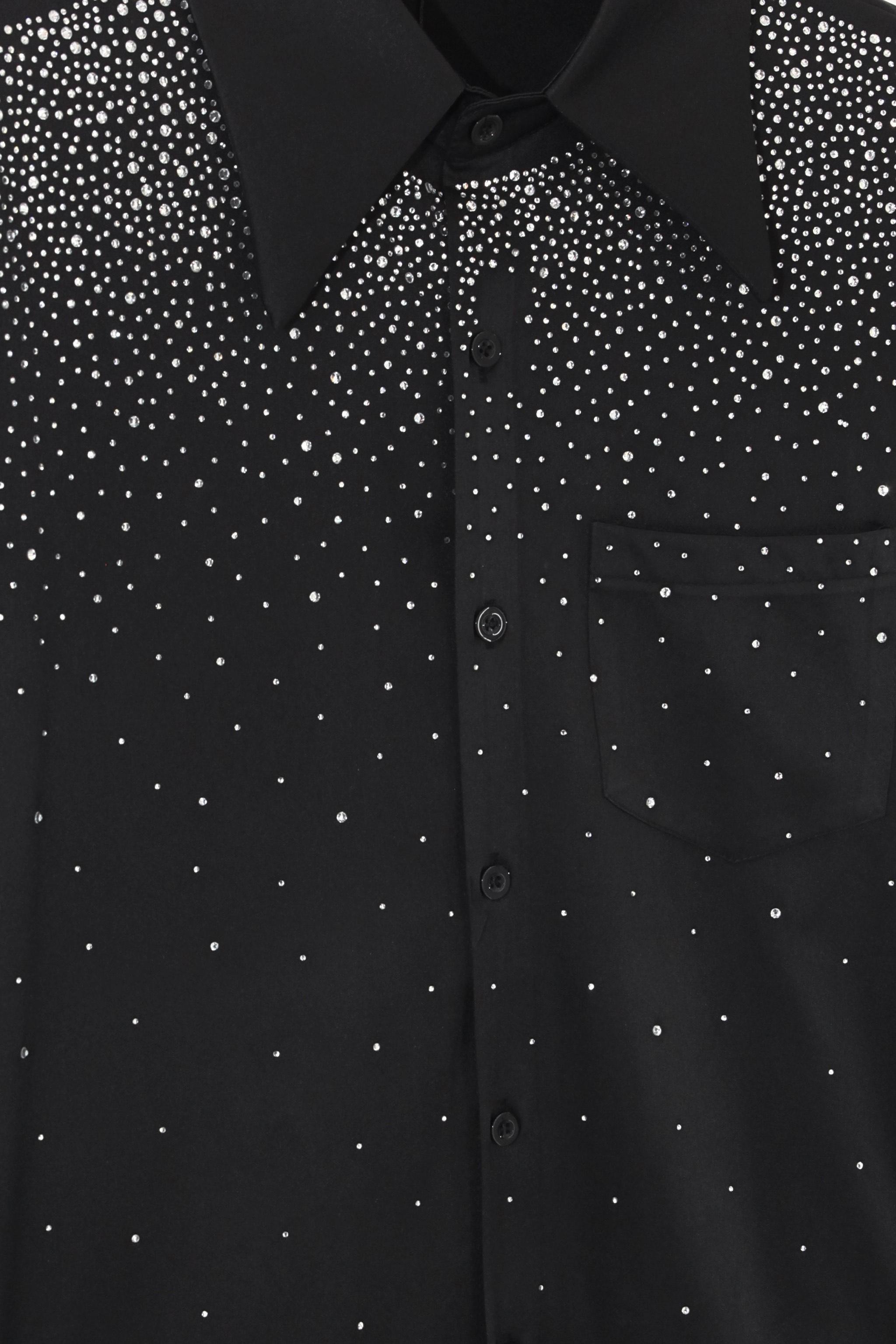 The Earth Print Black Oversized T-shirt cv3