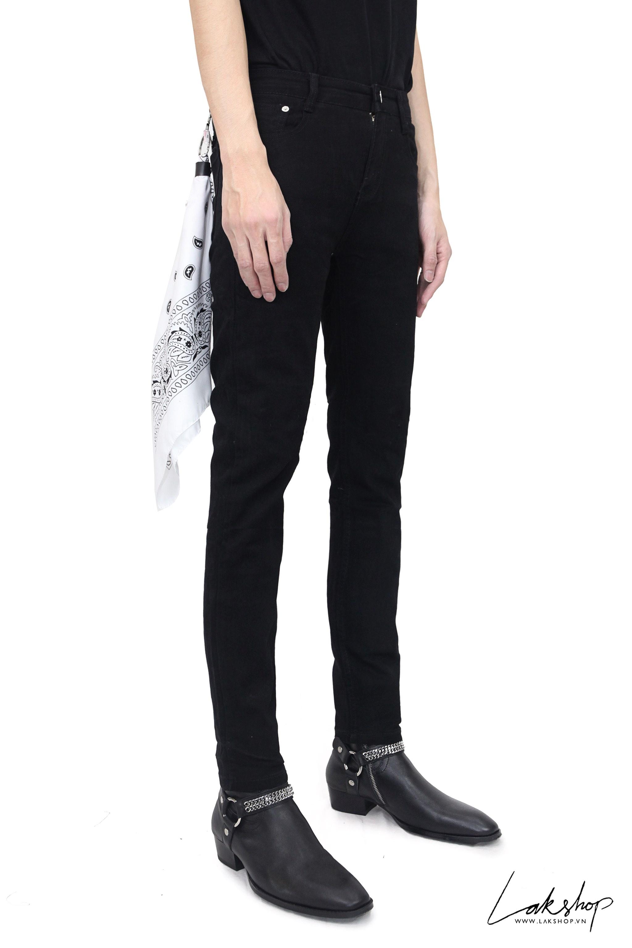 Black Classic Skinny Fit Jeans