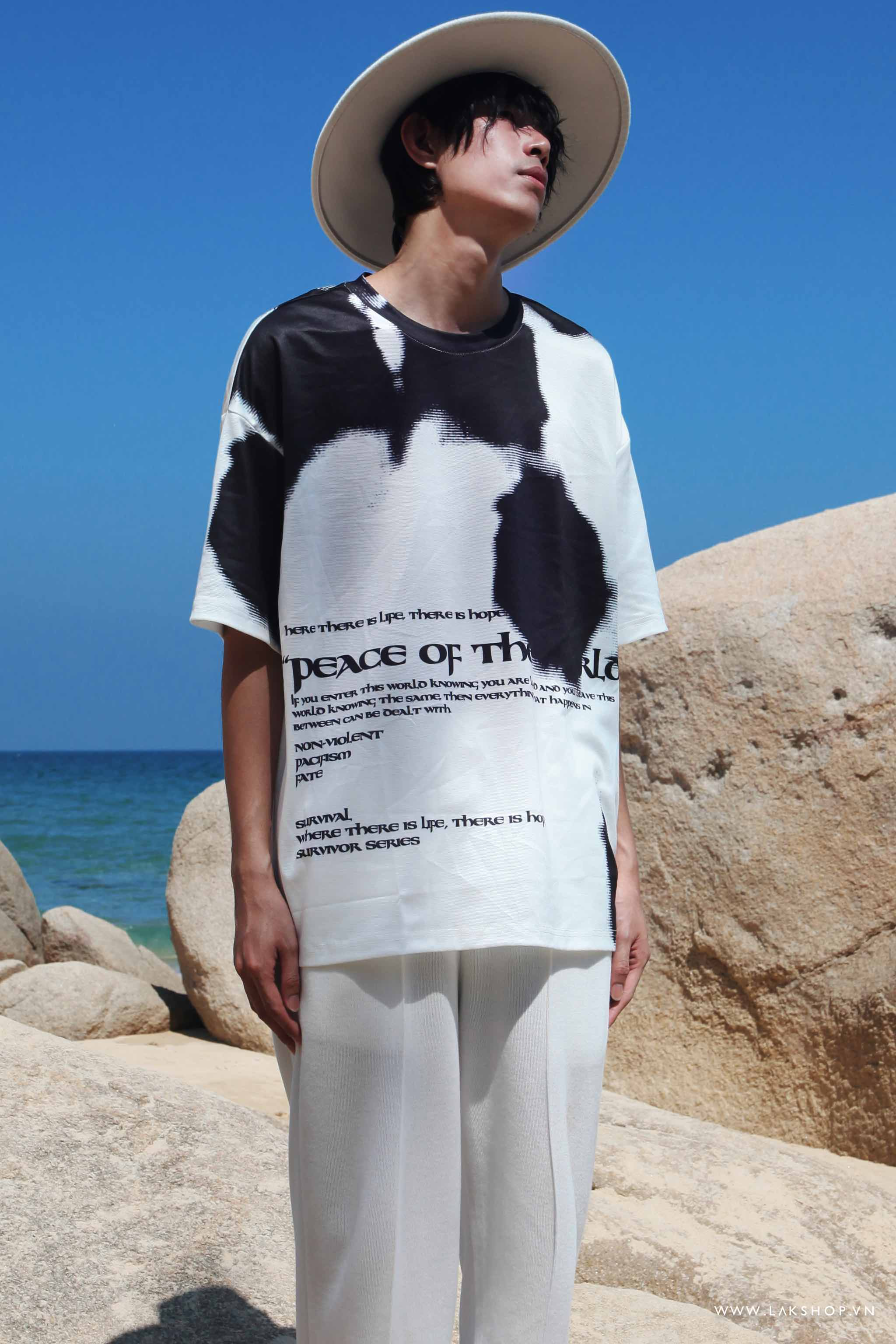Oversized Peace Of The Lord Print