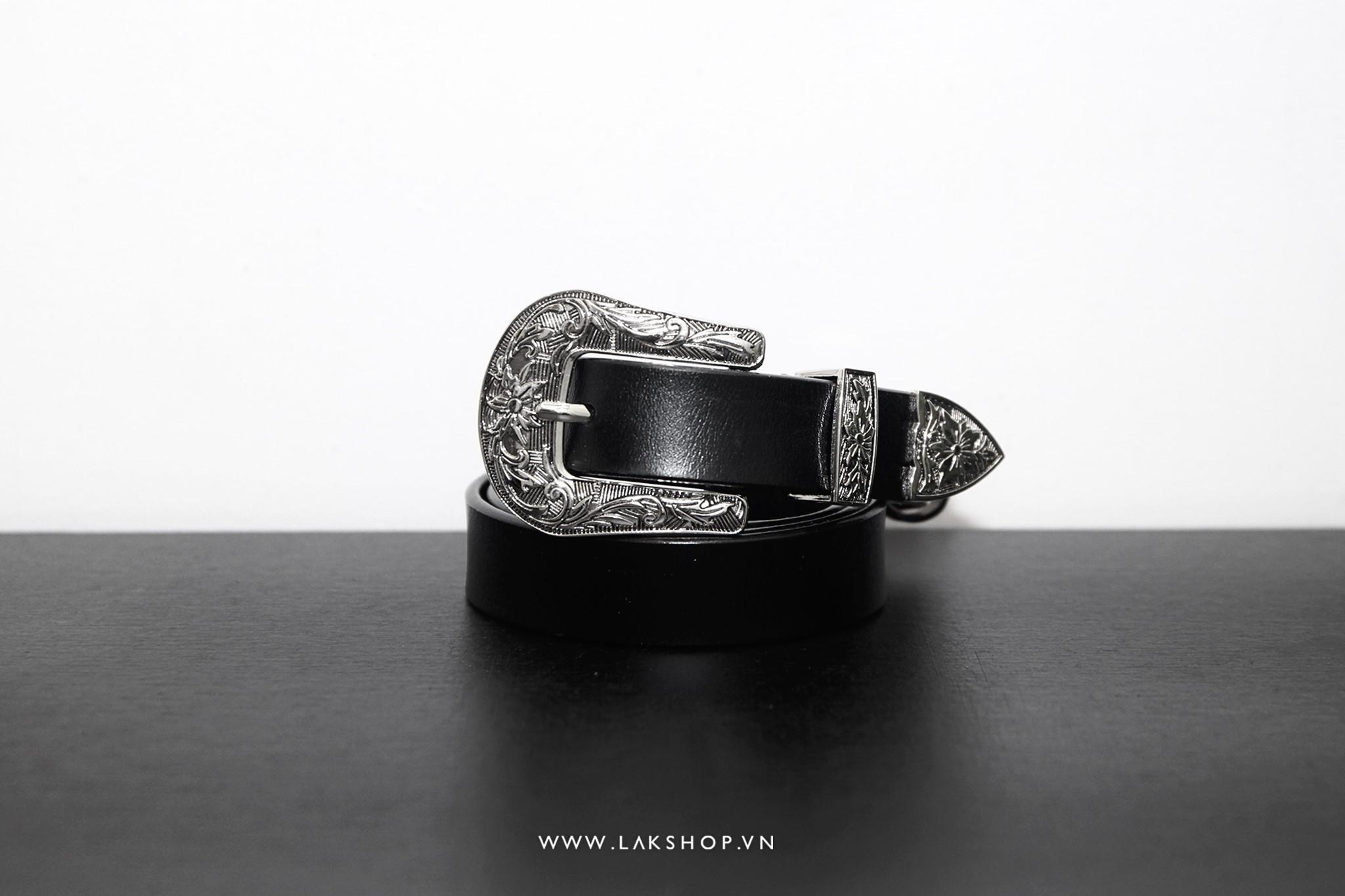 Thắt Lưng 17 - Cowboy Leather Belt (2,5cm)