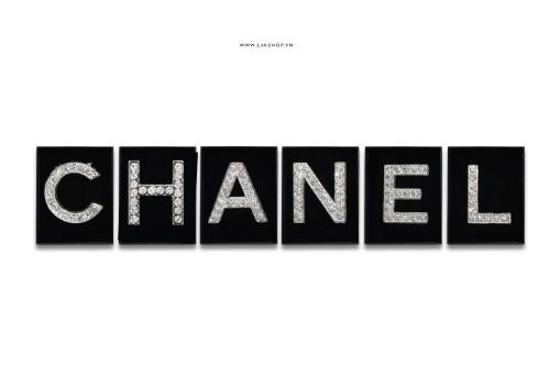 Trâm cài bộ chữ C.H.A.N.E.L (6 chữ 1 set)