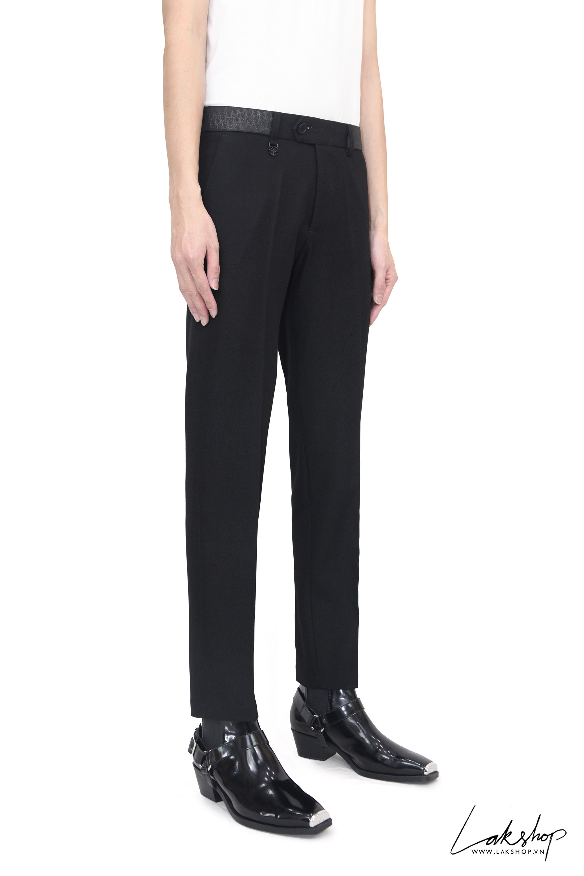 Dior CD Monogram with Waistband Trouser