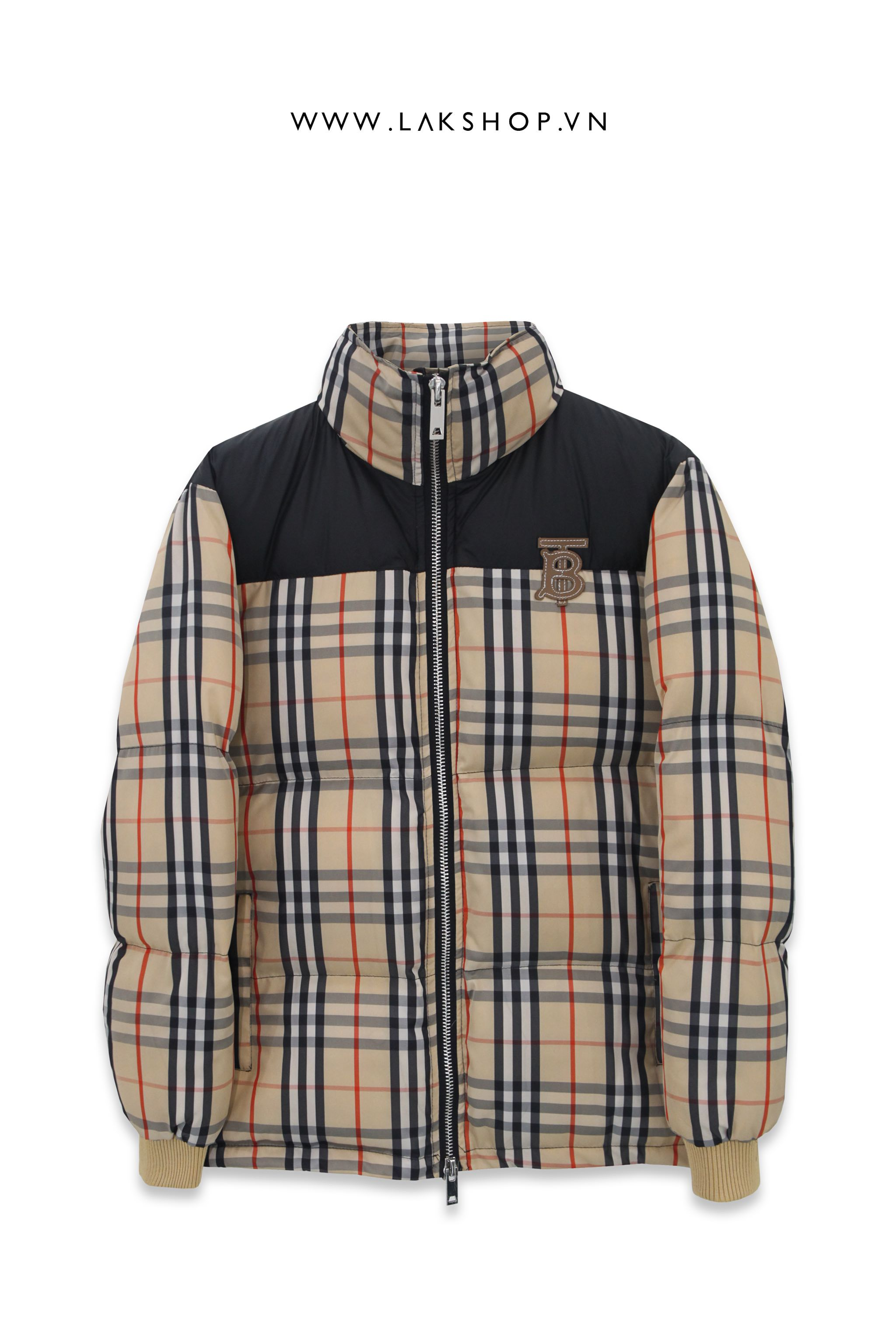 Áo Burberry Vintage Check Down Puffer Jacket ds10