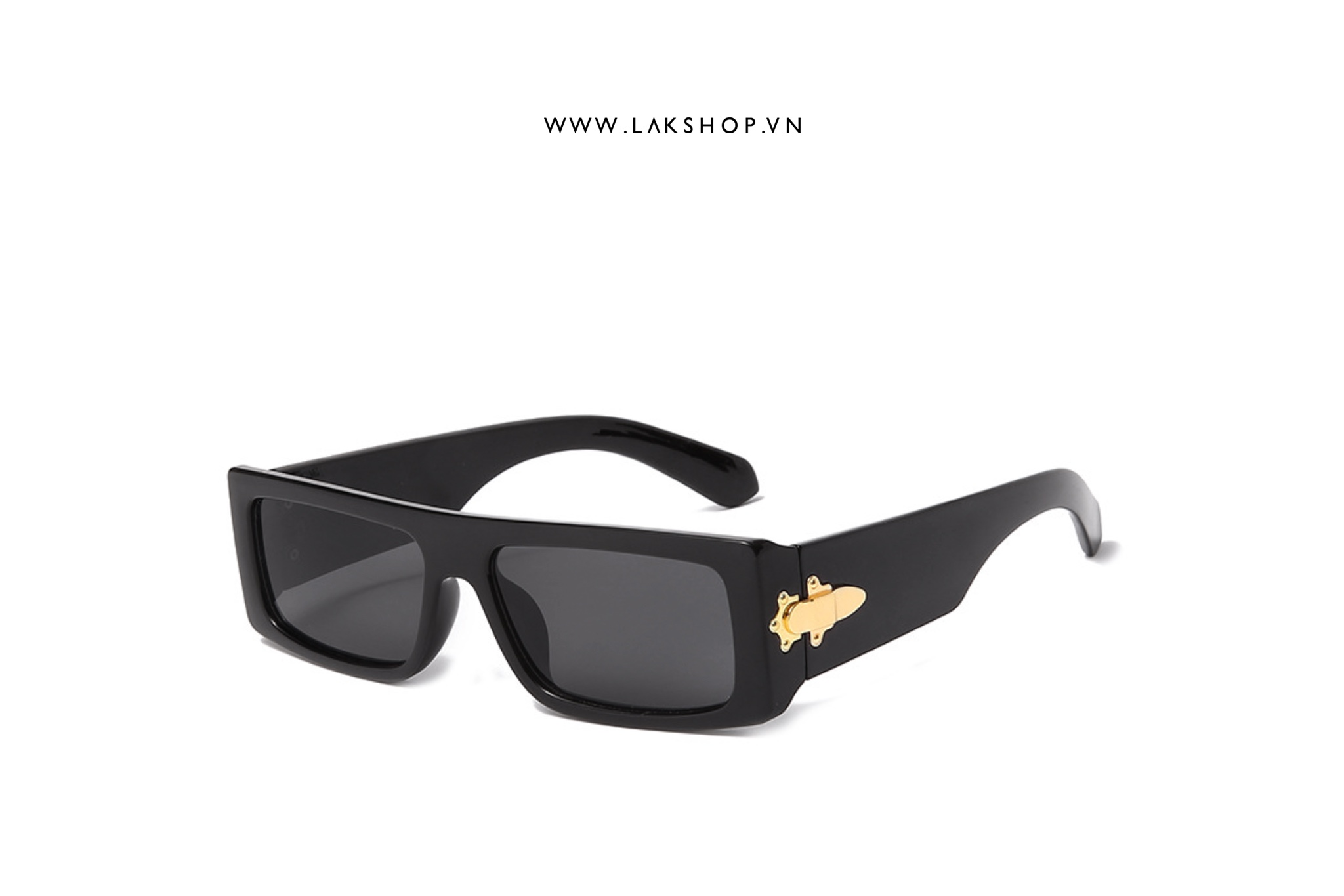 Kính LV Black Lock Sunglasses