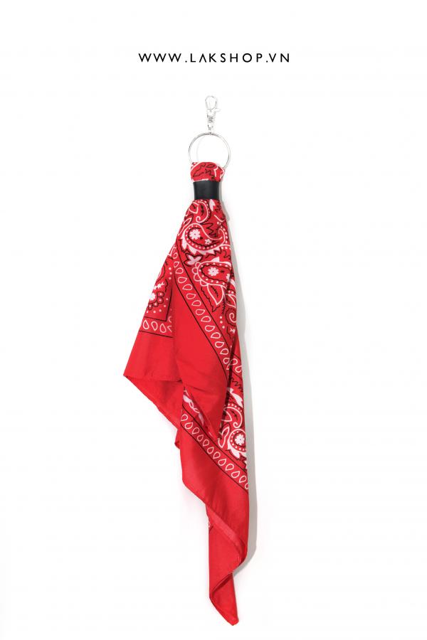 Red Bandana Keychain