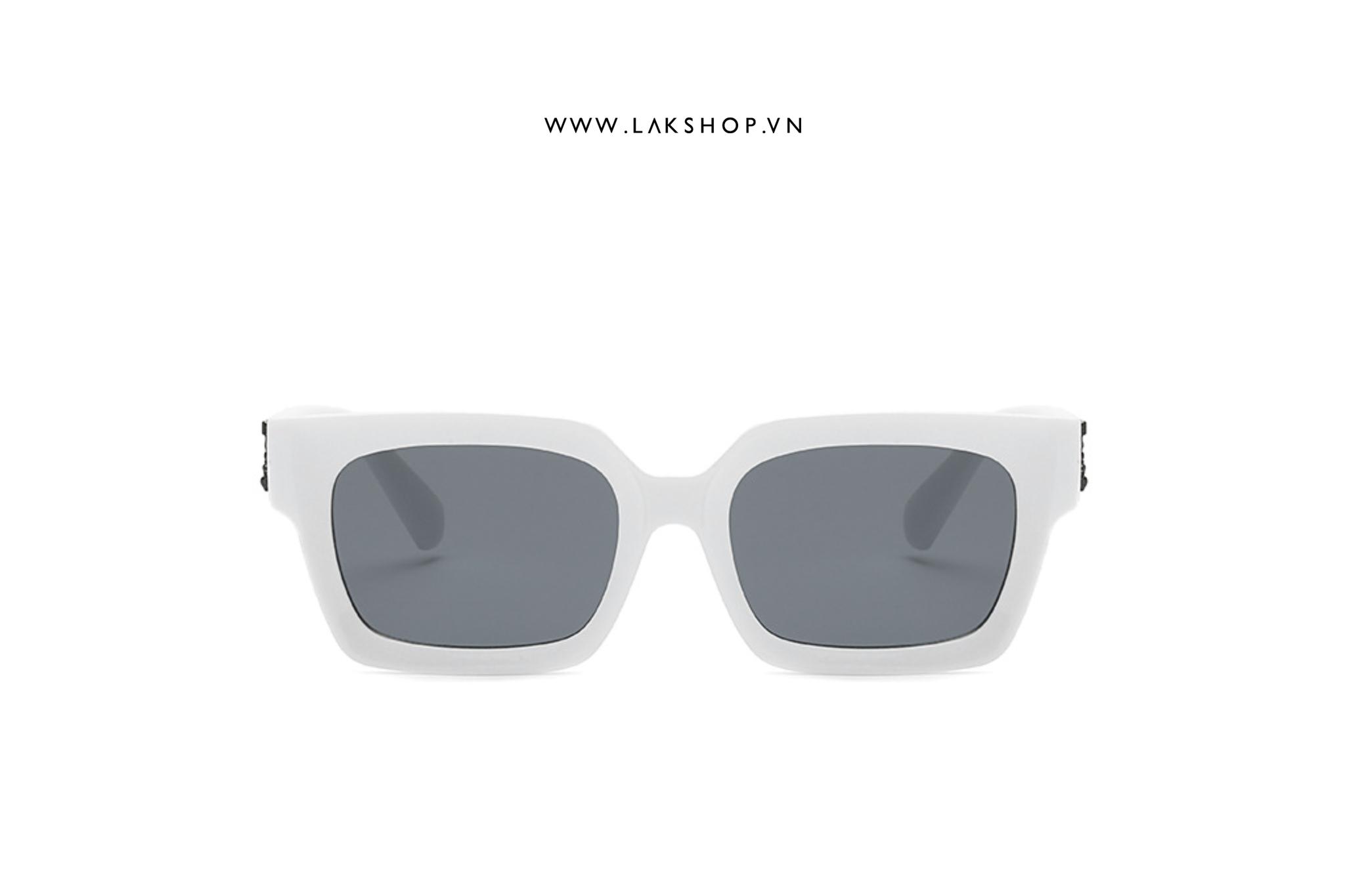 Kính White OW Logo Virgil Sunglasses