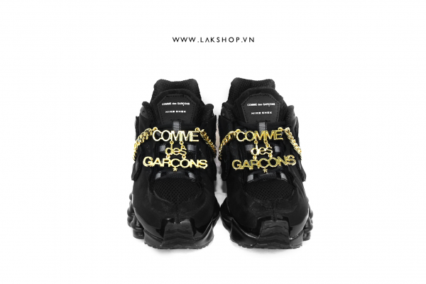 COMME des GARÇONS x Nike Shox Black