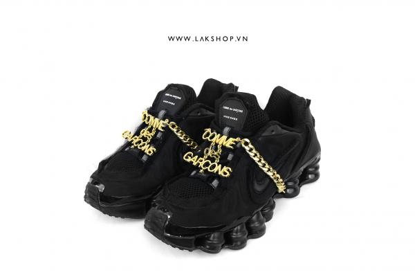 COMME des GARÇONS x Nike Shox Black cv5