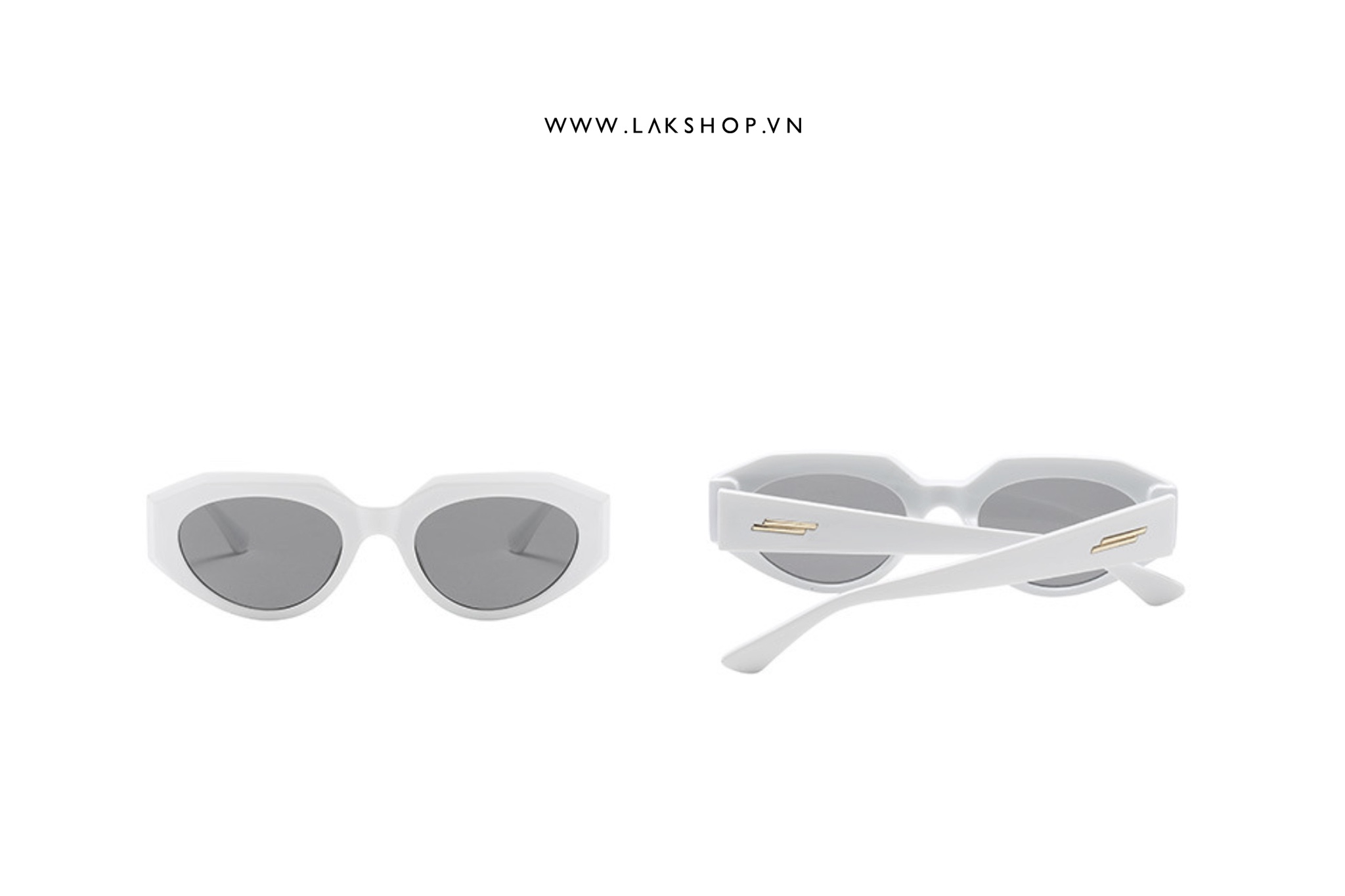 Kính White Hut Sunglasses