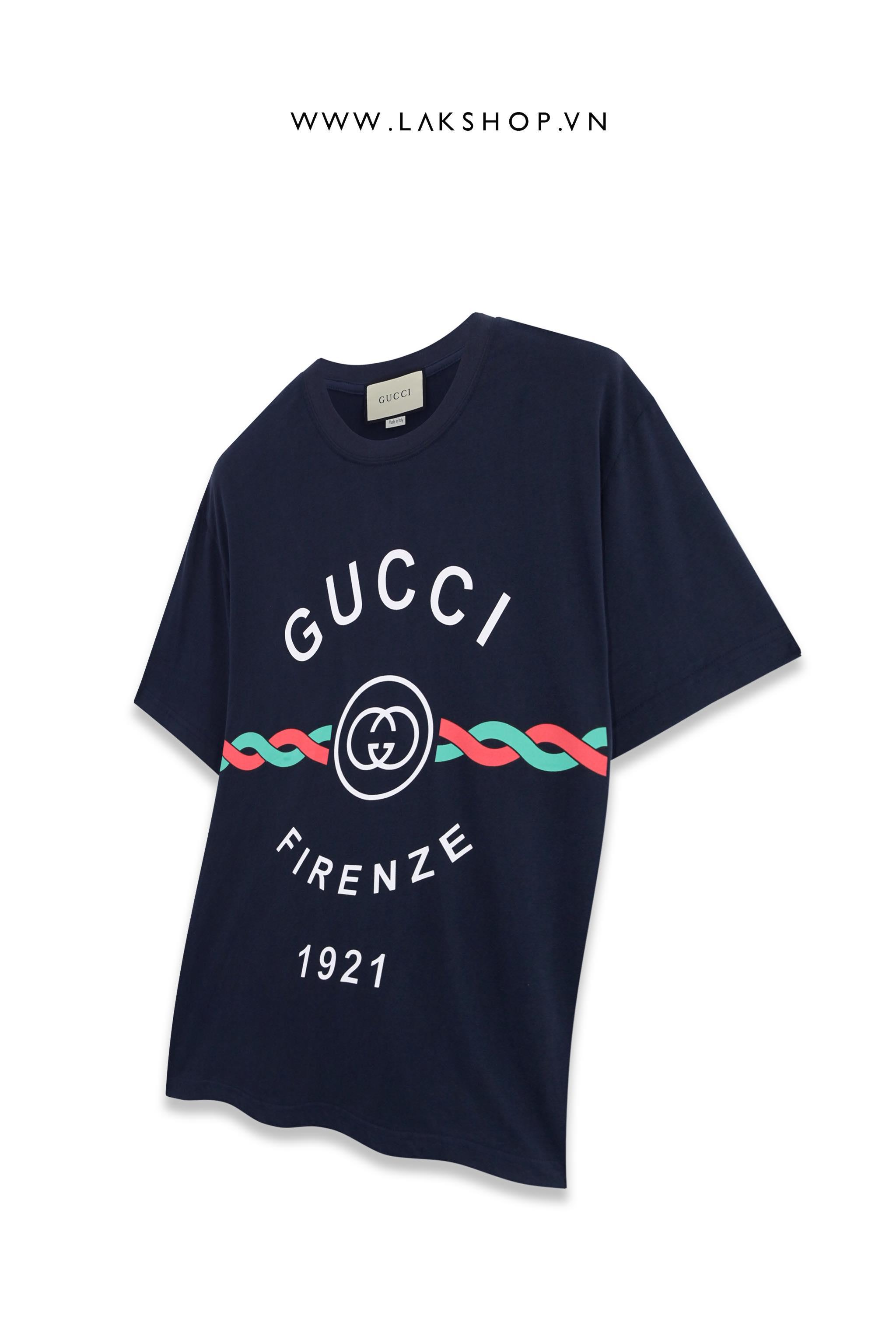 Gucci X Doreamon Big Logo Begie T-shirt
