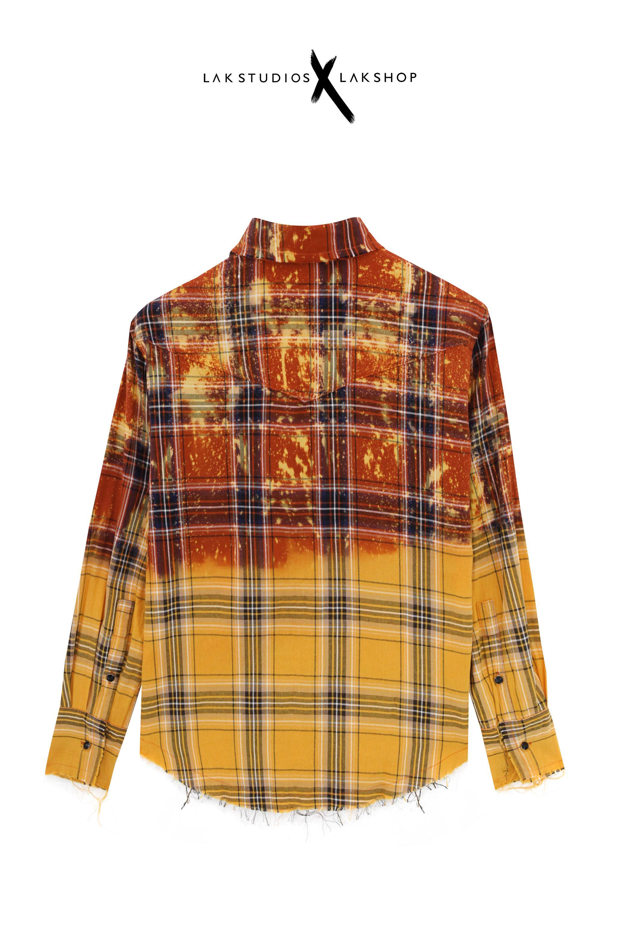 Lak Studios White Glitter Tweed Shirt Jacket
