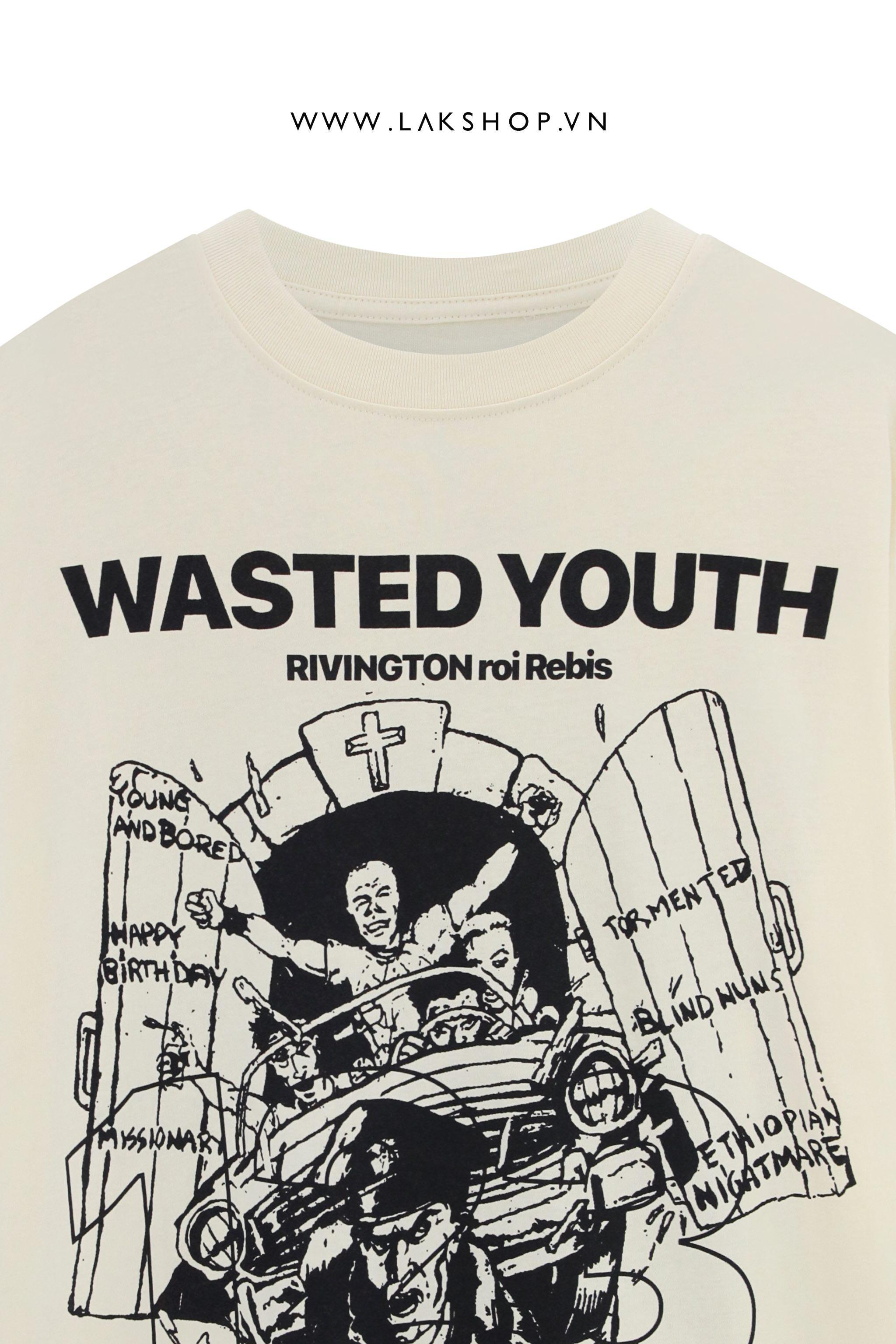 Loose White Pant