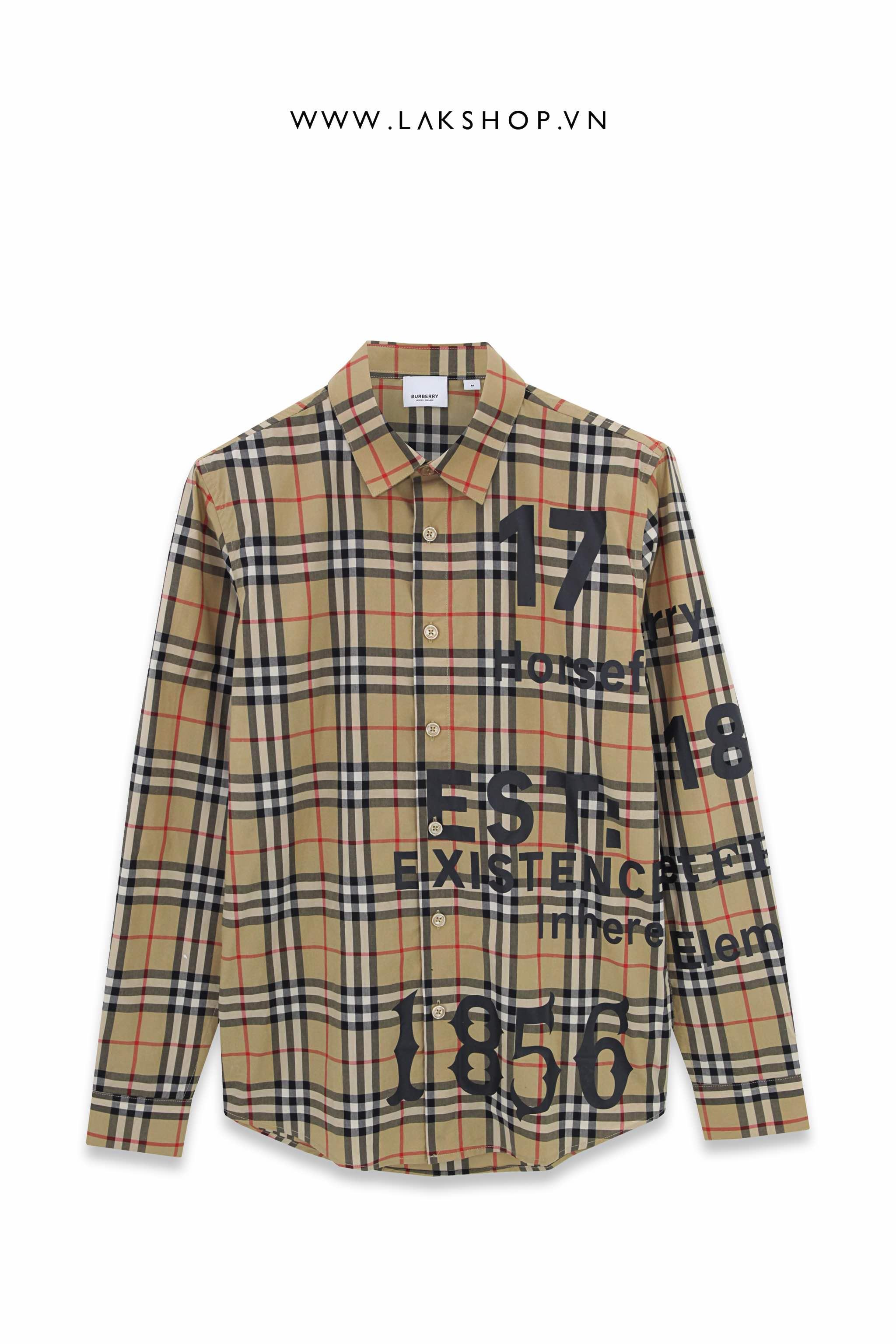 Lak Studios Grey Tweed Check Short Sleeve Shirt