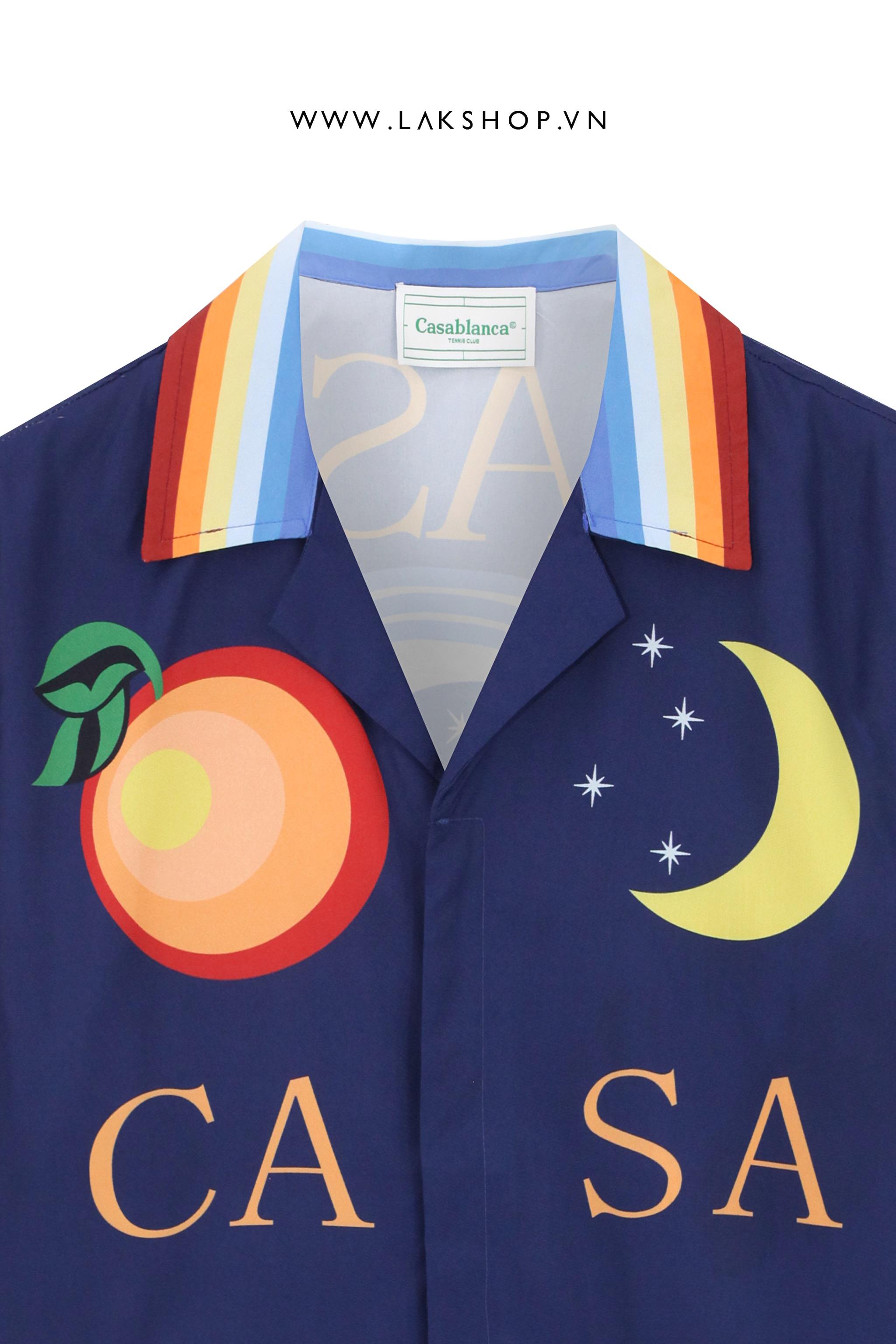 Oversized Yellow Ghost Short Sleeve Shirt cv3