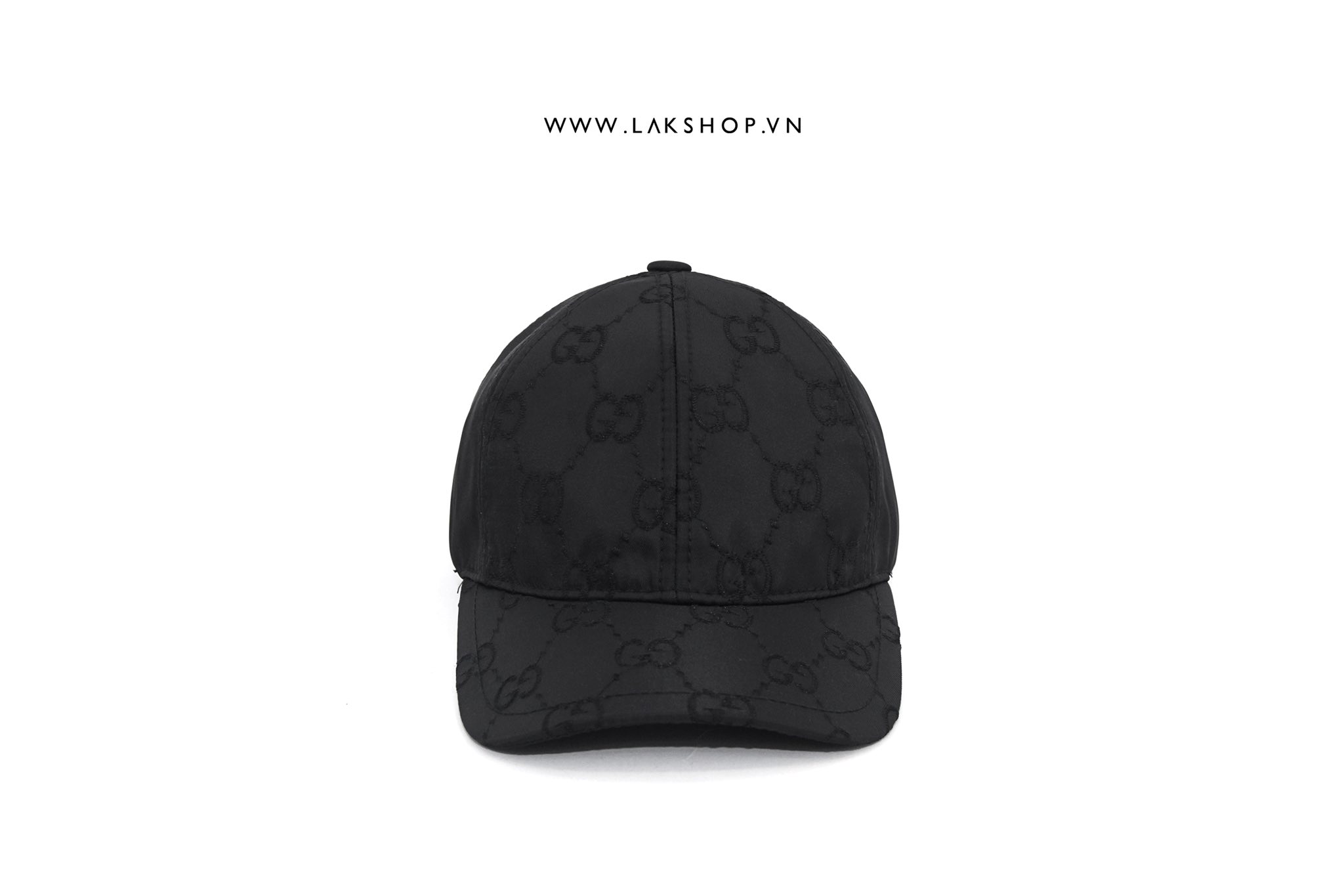 Gucci GG Monogram Embroidered Logo Baseball Hat