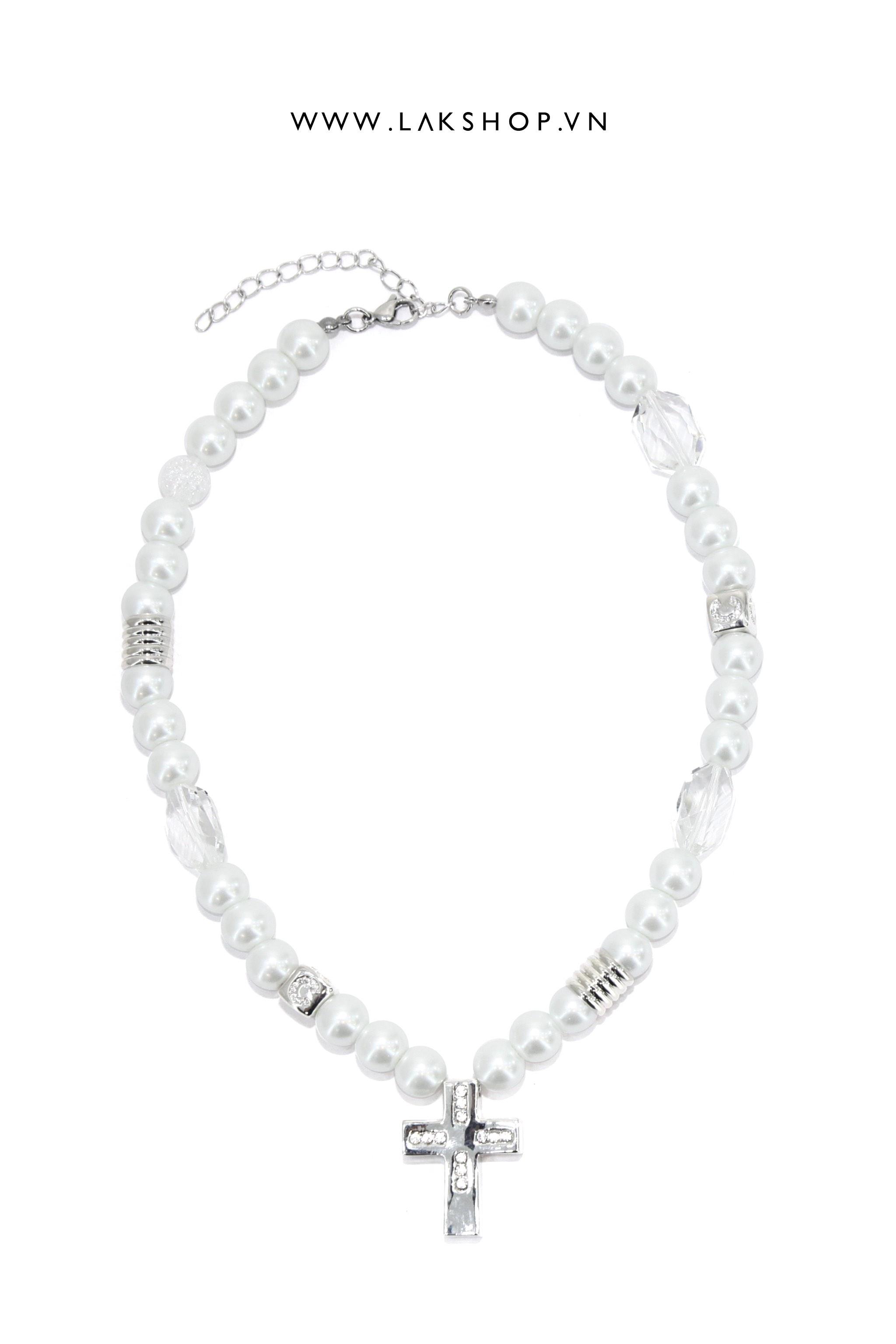 4-Button Loose Black Pant