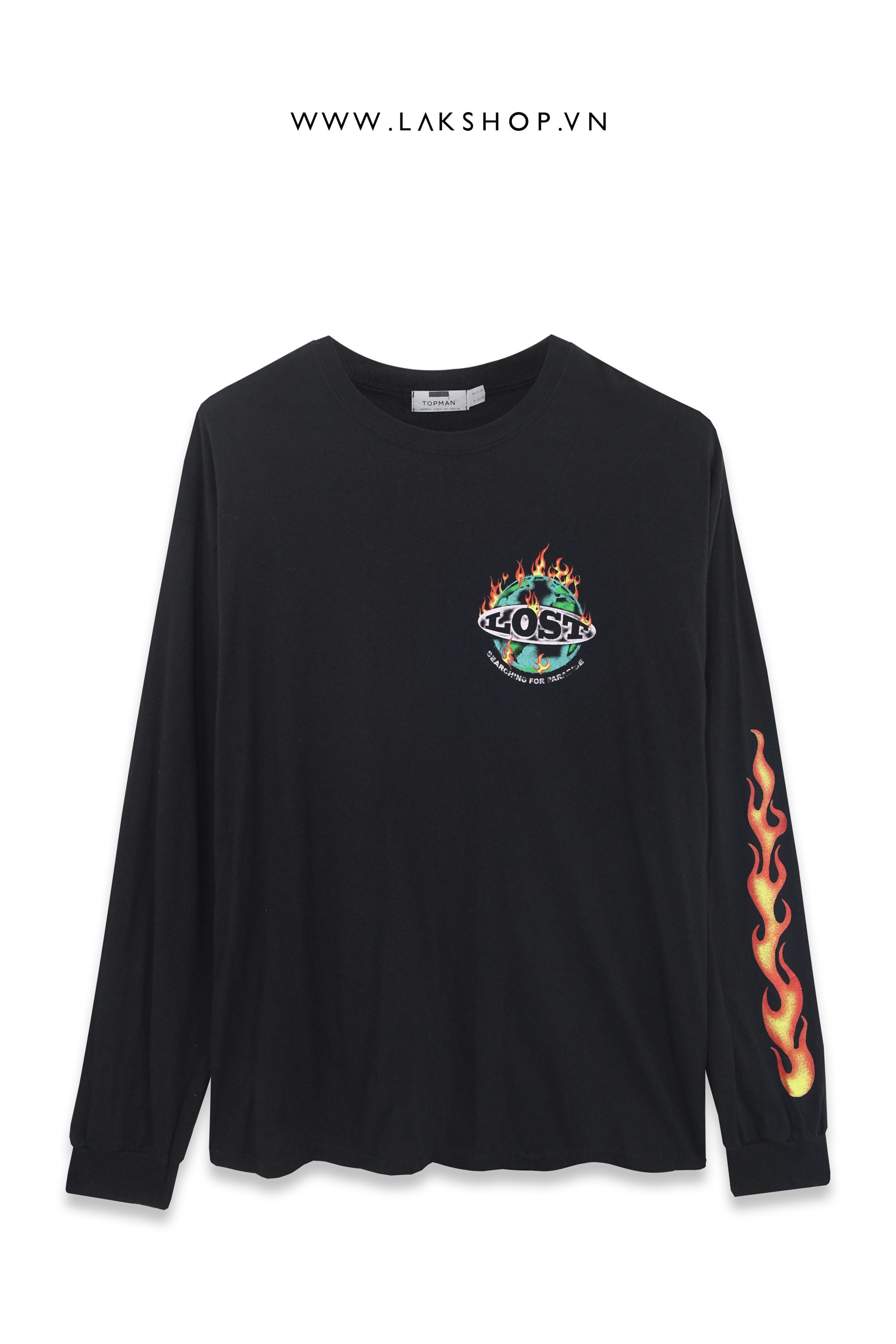 Topman Lost Flame Sweatshirt