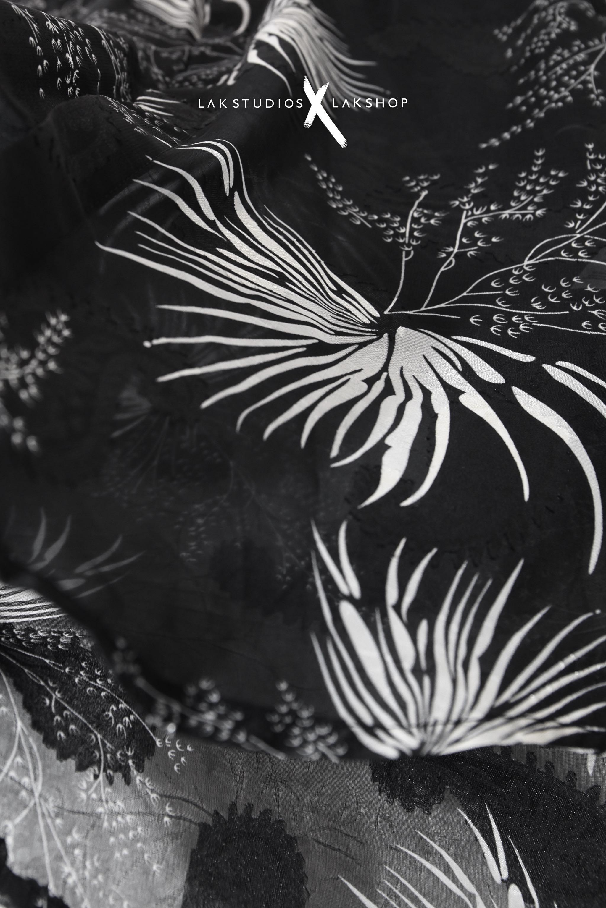 Lak Studios Flash Print Black Shirt