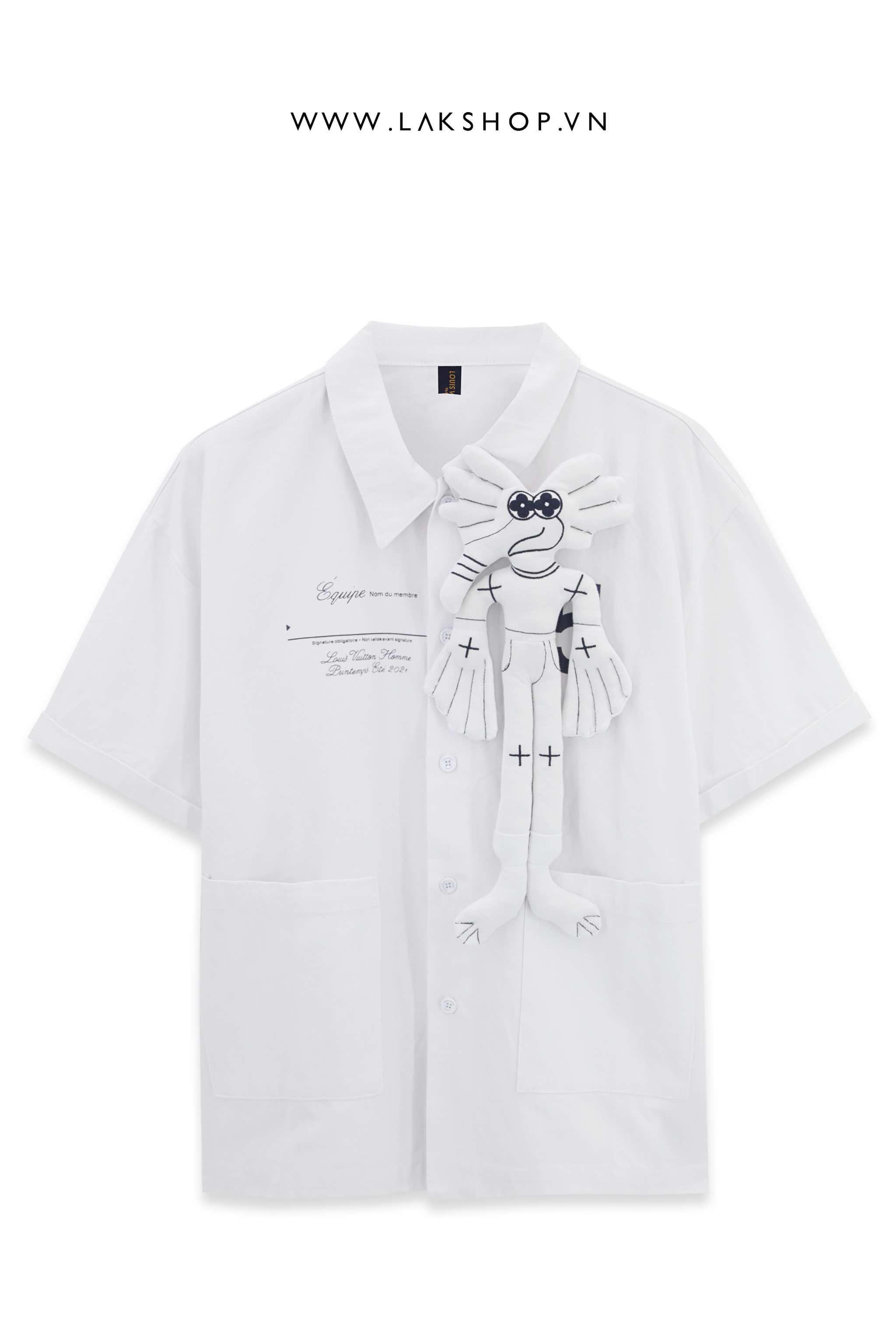 Louis Vuitton 3D Equipe Oversized Shirt