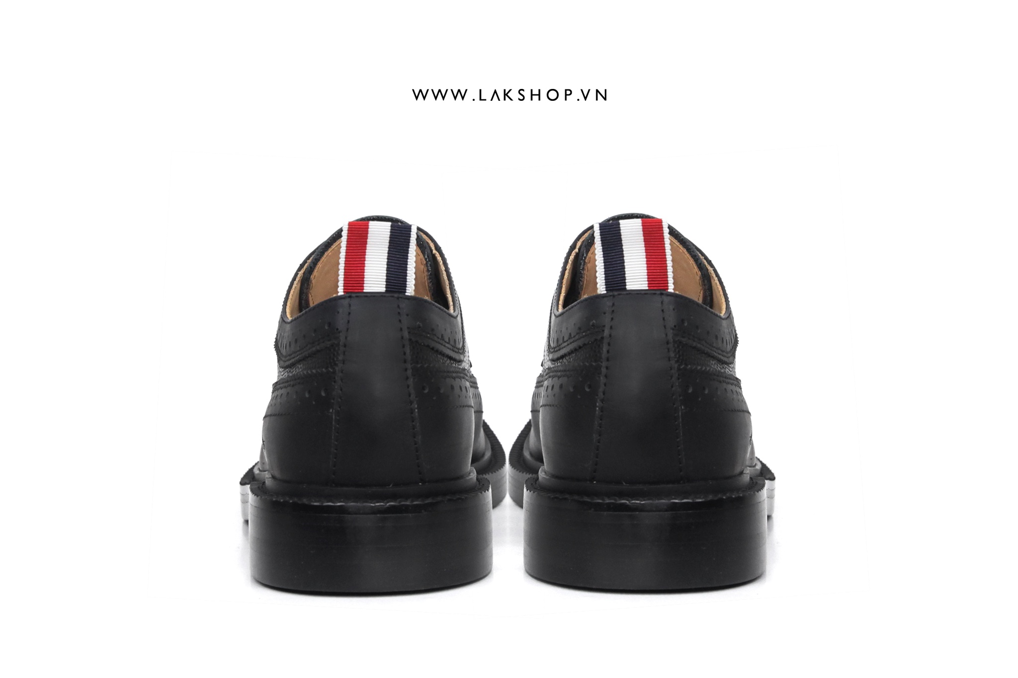 Thom Browne Classic Brogue Leather Derby Shoes