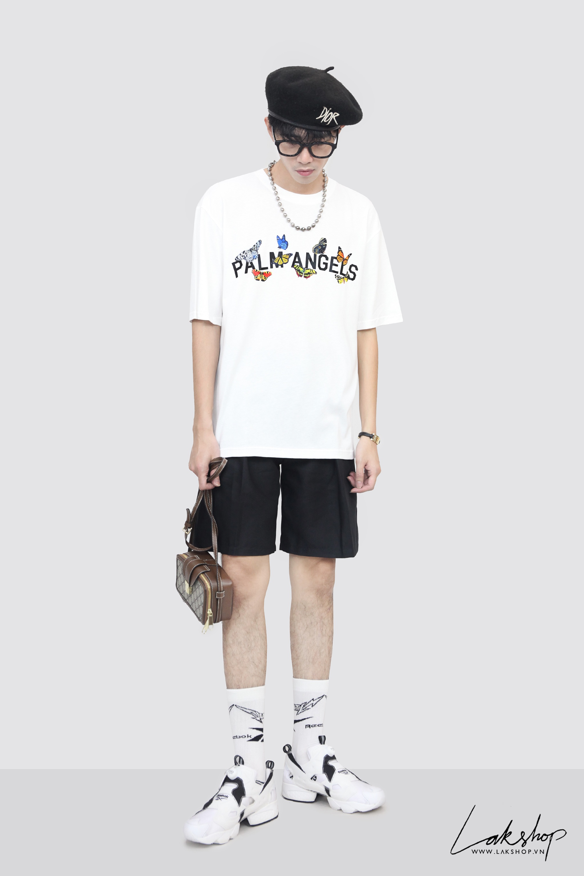 Louis Vuitton  With Spray Chain Print Oversize T-shirt