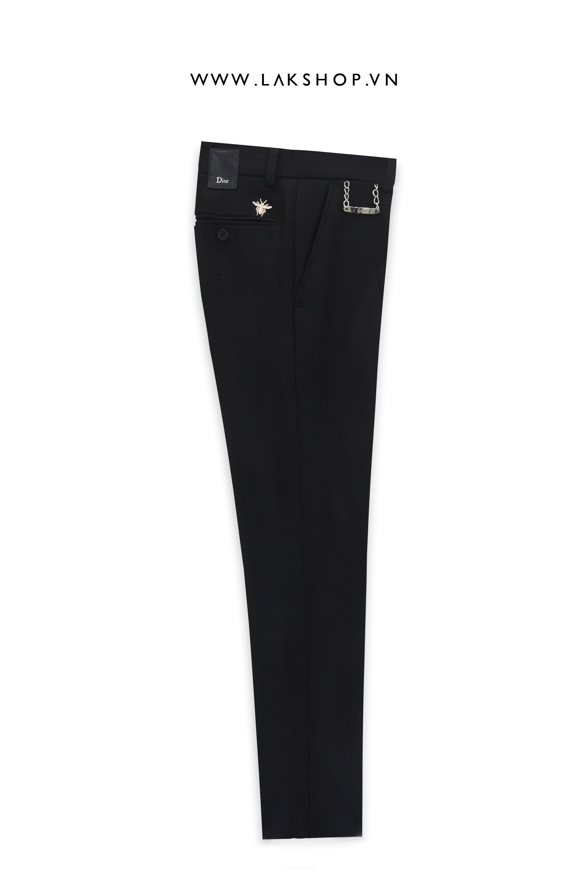 Dior Bee Logo With Chain Trousers cv1