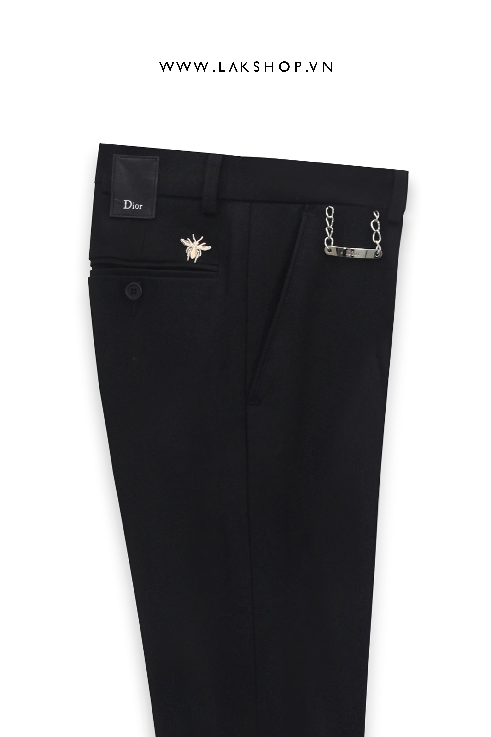 Dior Bee Logo With Chain Trousers