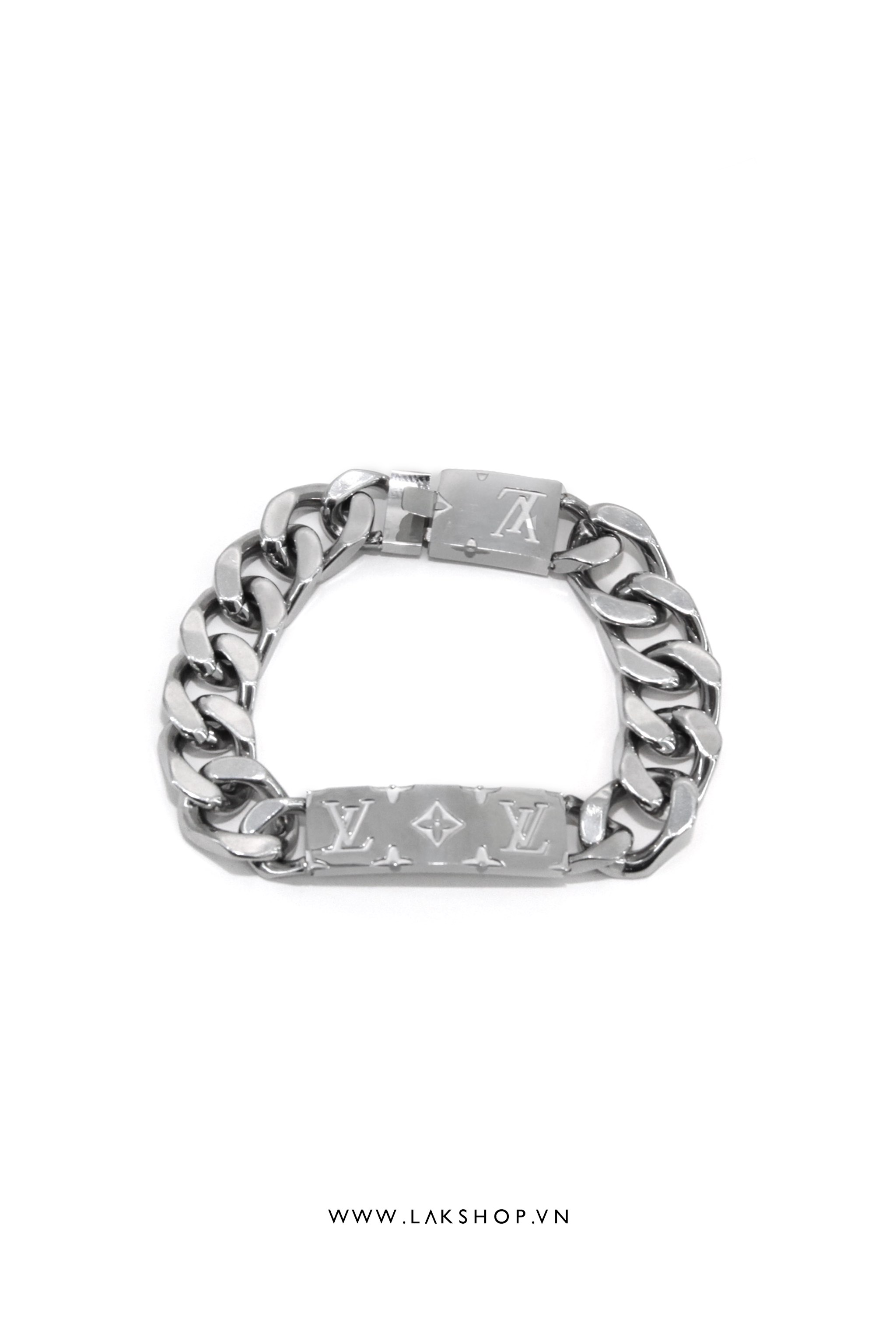 Vòng Tay Louis Vuitton Logo Chain Bracele Fullbox