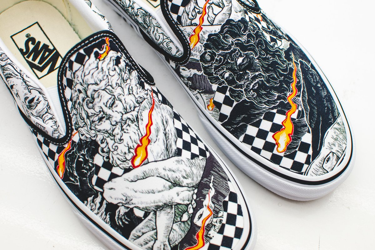 "giày Vans ""Along with the Gods"""