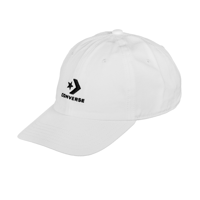 Mũ Converse Lock Up Baseball MPU Cap - White - 10008477102