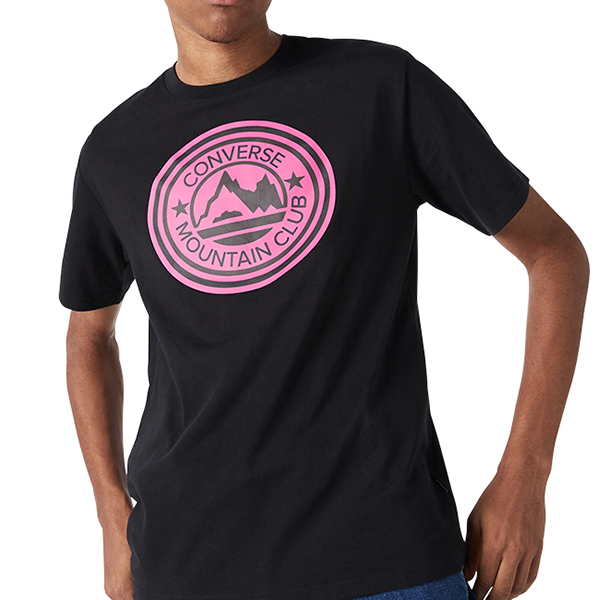 Áo Converse Mountain Club Patch T Shirt - Black - 10018298001