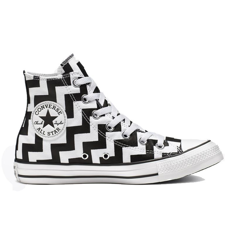 Giày Converse Chuck Taylor All Star Glam Dunk Hi - White / Black - 565213C