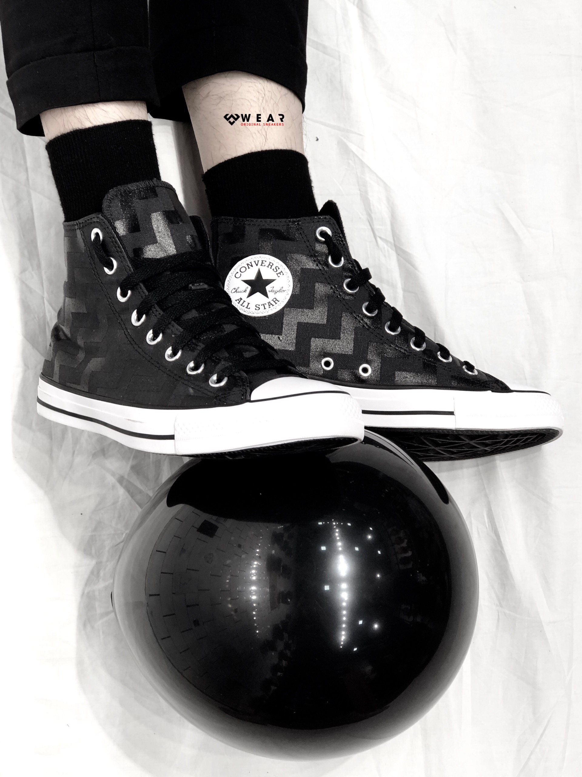 Giày Converse Chuck Taylor All Star Glam Dunk Hi - Dark Gray - 565212C