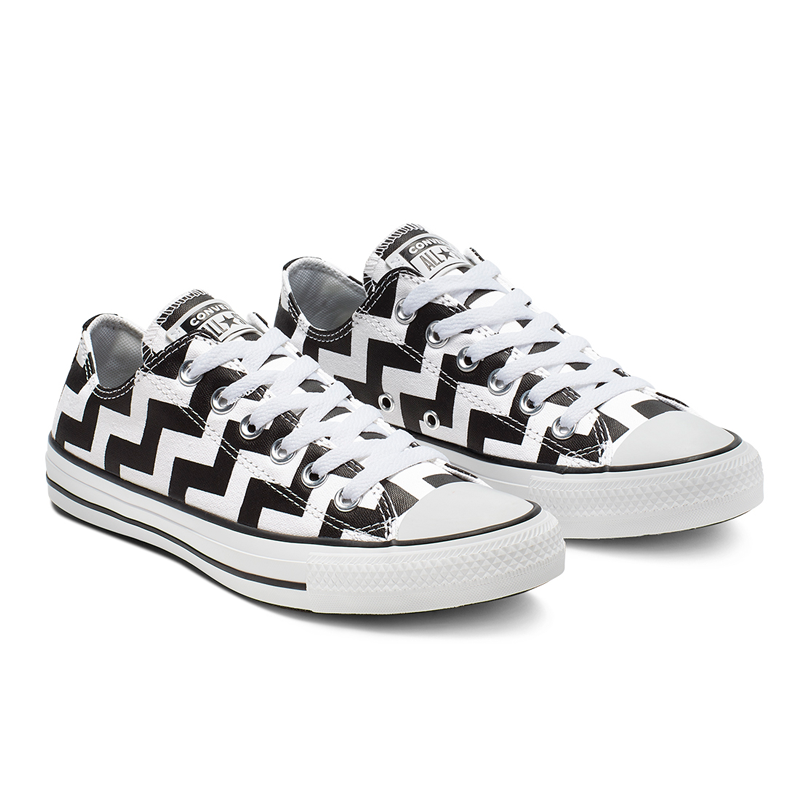 Giày Converse Chuck Taylor All Star Glam Dunk Low - White / Black - 565438C