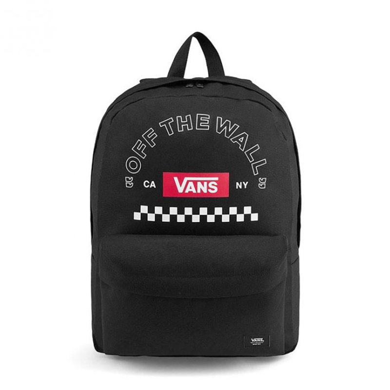 Balo Vans Redbox Checker Backpack - VN0A489NBLK