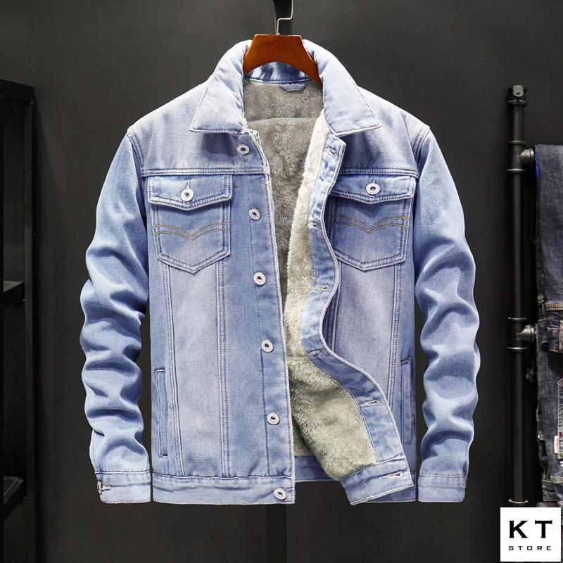 Áo jeans lót lông ( B4 )