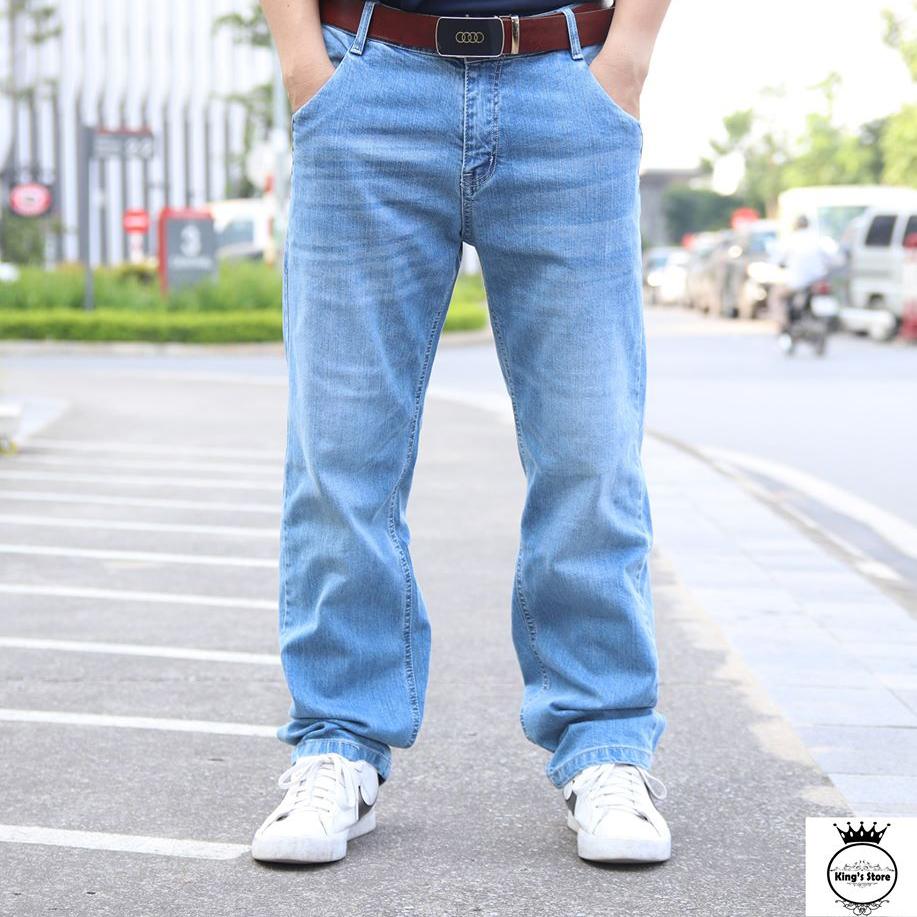 Jean suông xanh dương BL02