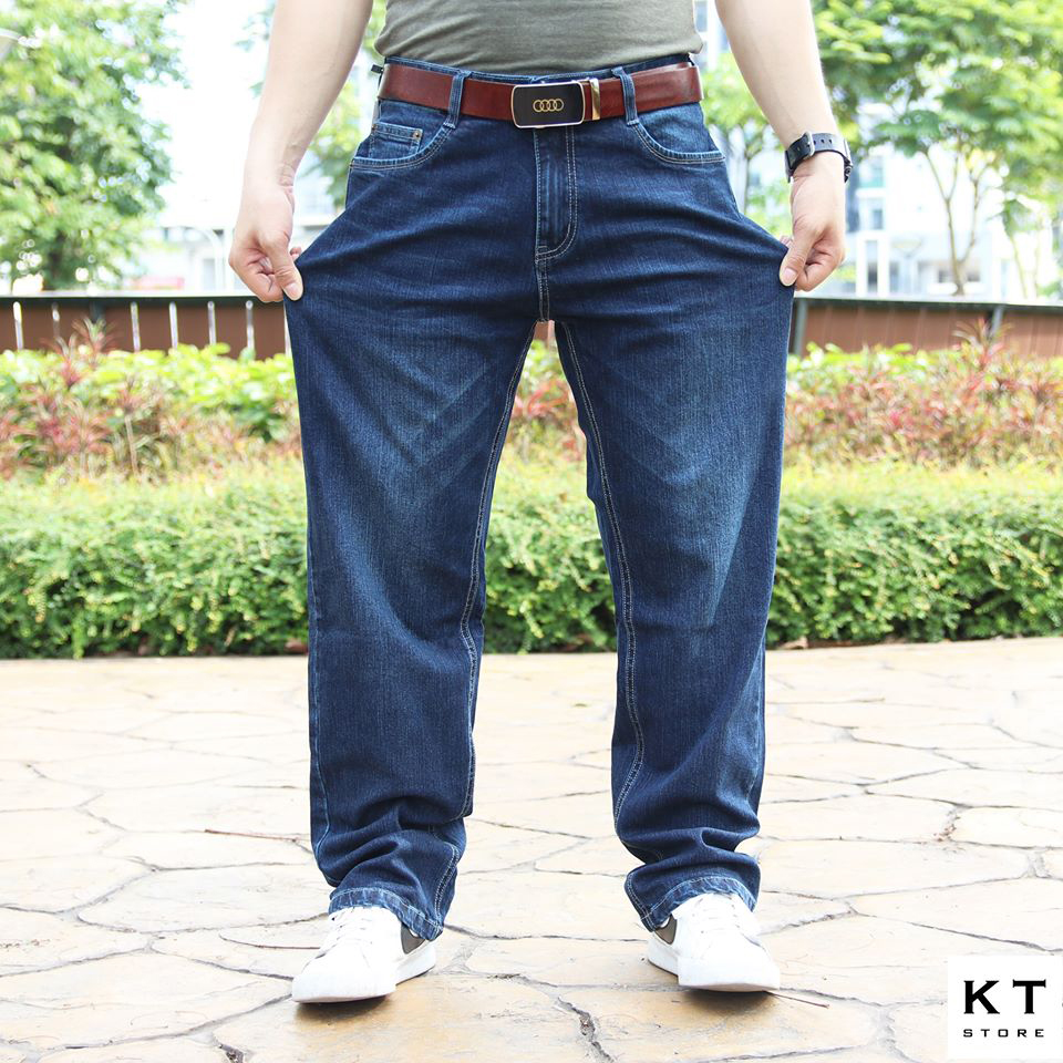 Jeans ống rộng A2