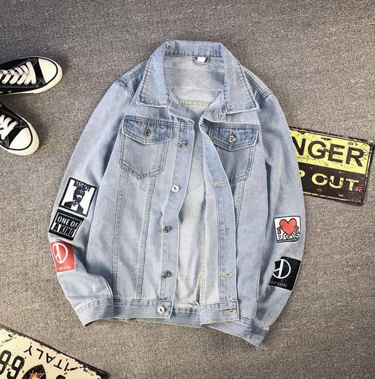 Áo jeans G-Dragon  (GD )