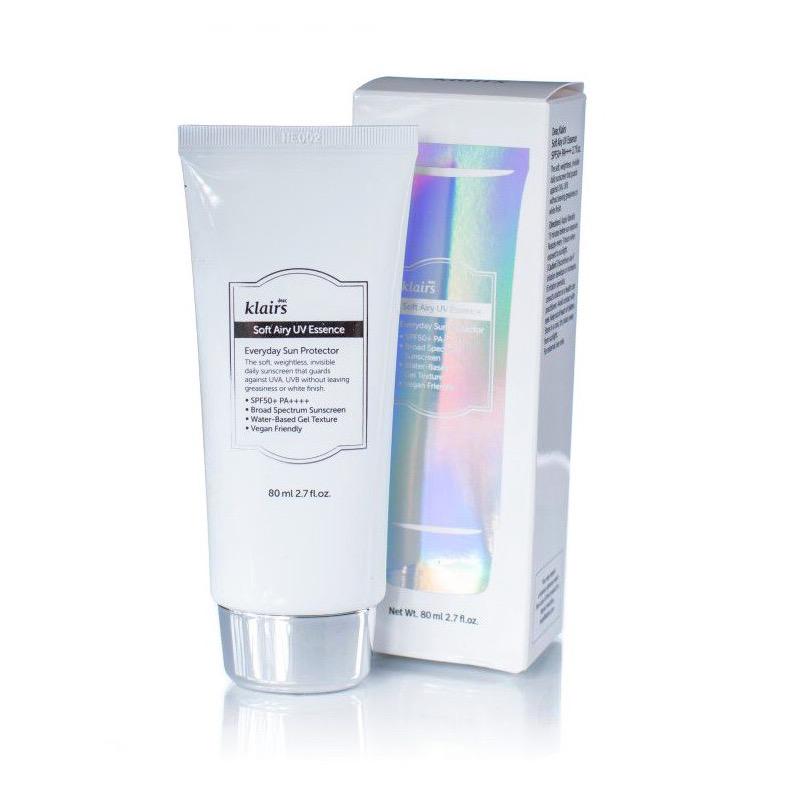 Kem chống nắng mỏng nhẹ Klairs Soft Airy UV Essence SPF50+ PA++++