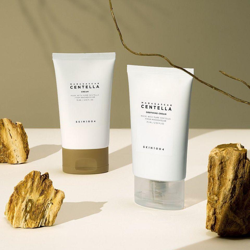 Kem dưỡng rau má phục hồi da Skin1004 Madagascar Centella Cream