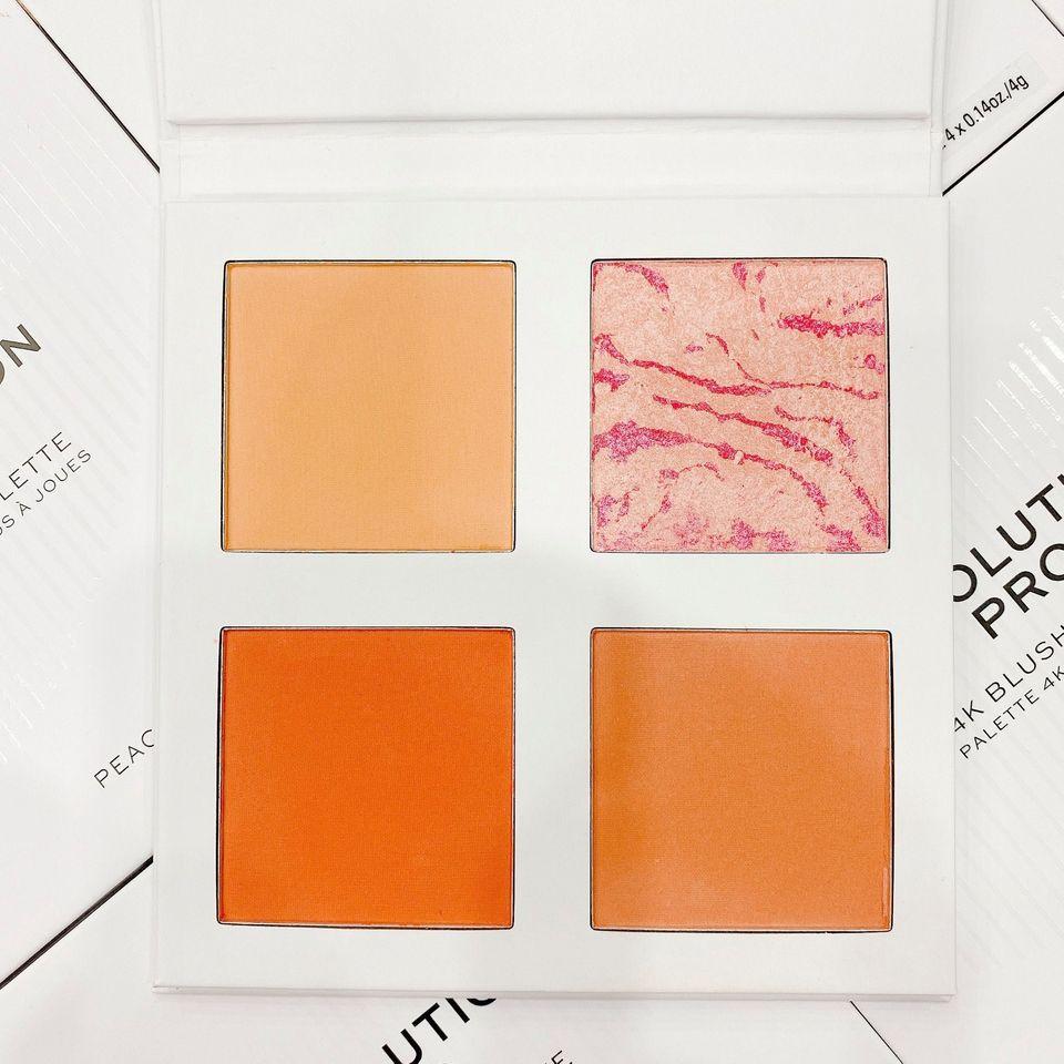 Bảng phấn má 4 ô Makeup Revolution Pro 4K Blush Palette 4K