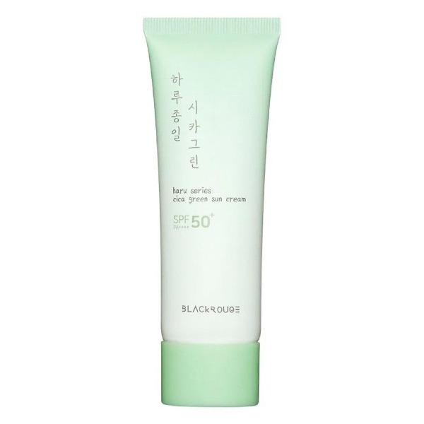 Kem Chống Nắng Dịu Nhẹ Black Rouge Cica Green Sun Cream SPF50+/PA++++ 50ml