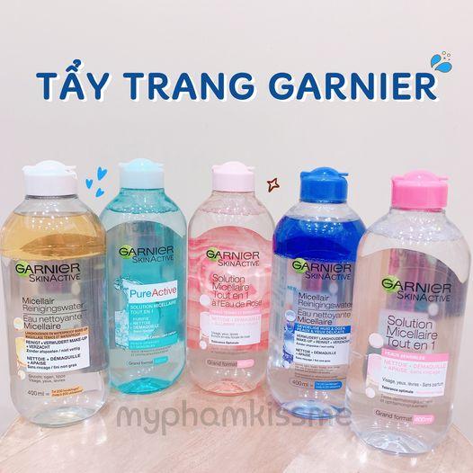 Nước tẩy trang Garnier Micellar Cleansing Water (Bản Pháp)