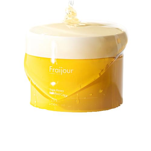 Kem Dưỡng Ẩm, Dướng Trắng Fraijour Yuzu Honey Cream