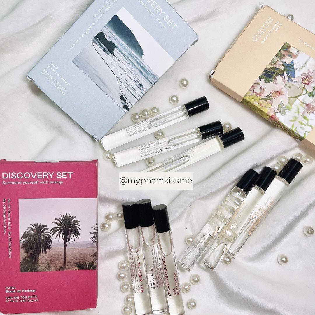 Set Nước Hoa Zara Discovery Set
