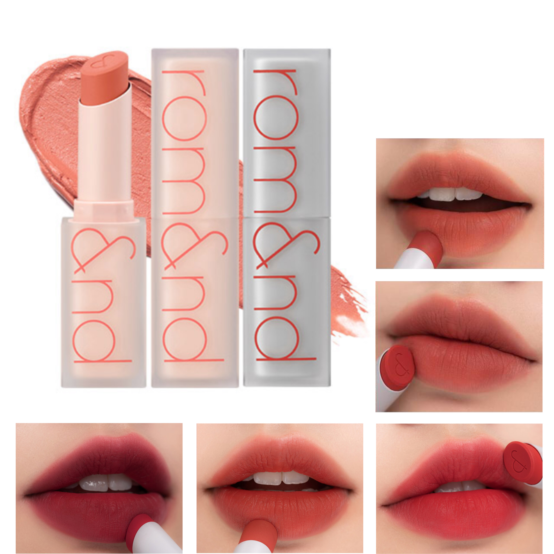 Son Thỏi Romand Zero Matte Lipstick New 2020